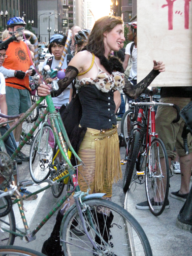 Views of the 10th Anniversary Critical Mass & Participants in 2008